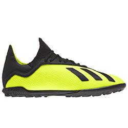 Botas de fútbol niños X 18.3 HG amarillo