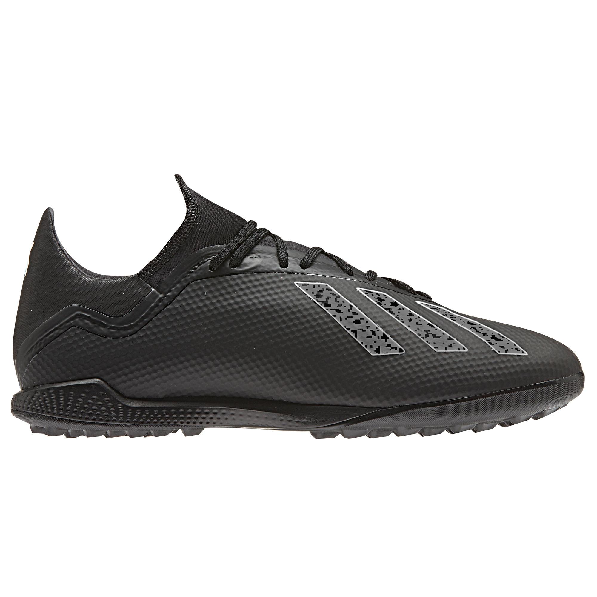 Botas de fútbol adulto X 18.3 HG negro Adidas  e55df232c3fb9