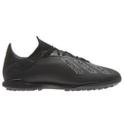 Voetbalschoenen X 18.3 HG voor volwassenen zwart