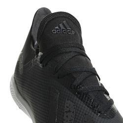 Botas de fútbol adulto X 18.3 HG negro