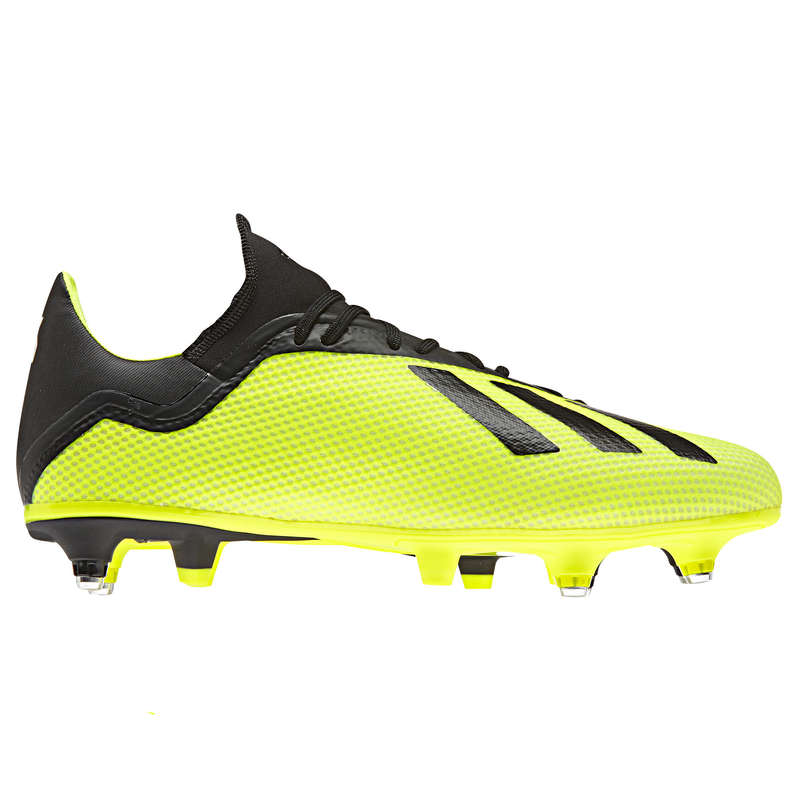 Soft pitch Football - X 18.3 SG Adult - Yellow ADIDAS - Football Boots
