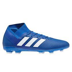 Botas de fútbol adulto Nemeziz 18.3 FG azul