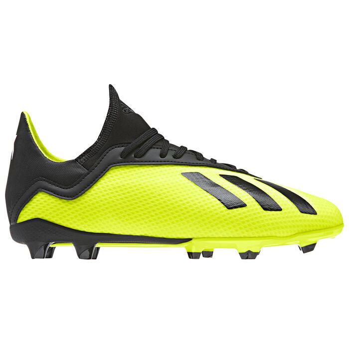 Voetbalschoenen kind X 18.3 FG geel