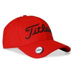 Gorra de golf adulto titleist rojo