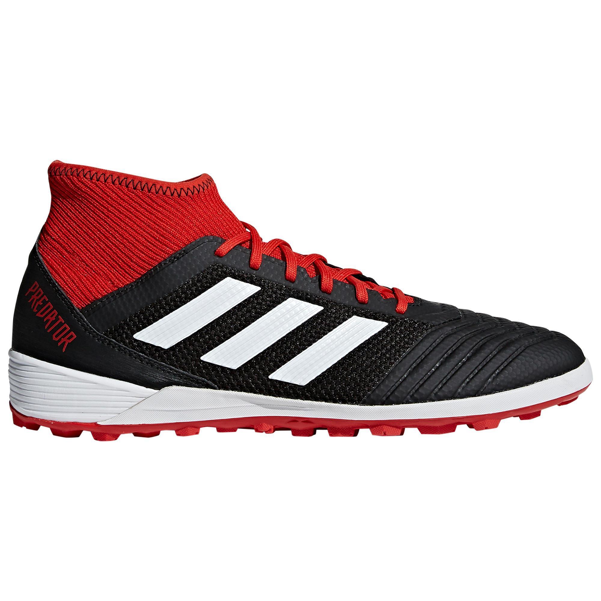 Adidas Voetbalschoenen Predator Tango 18.3 TF voor volwassenen zwart/rood
