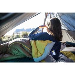 Saco de dormir de trekking TREK500 5° light rosa