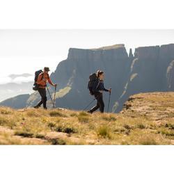 Zip-Off-Trekkinghose Trek 500 Herren dunkelgrau