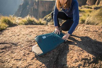 Trekking Self-inflating Mattress Trek 500 L - Blue