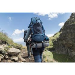 Sac à dos trekking montagne TREK500 50L +10L Homme Bleu