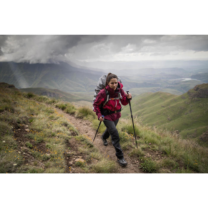 Trekkingschoenen voor in de bergen Trek 700 dames