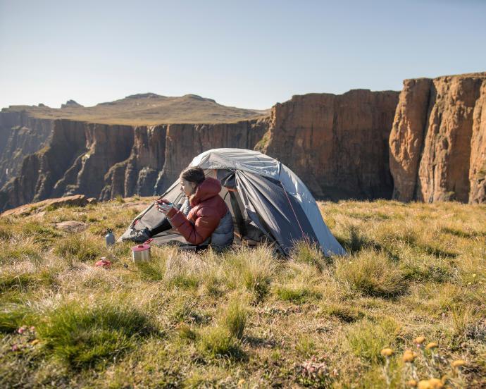 迪卡儂環保產品:健行帳篷