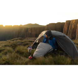 Trekkingtent Trek 900 ultralight 1 persoon grijs
