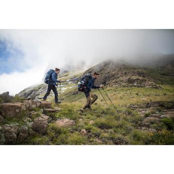 Sac à dos de trekking en montagne homme - TREK 900 Symbium - 70+10L Anthracite