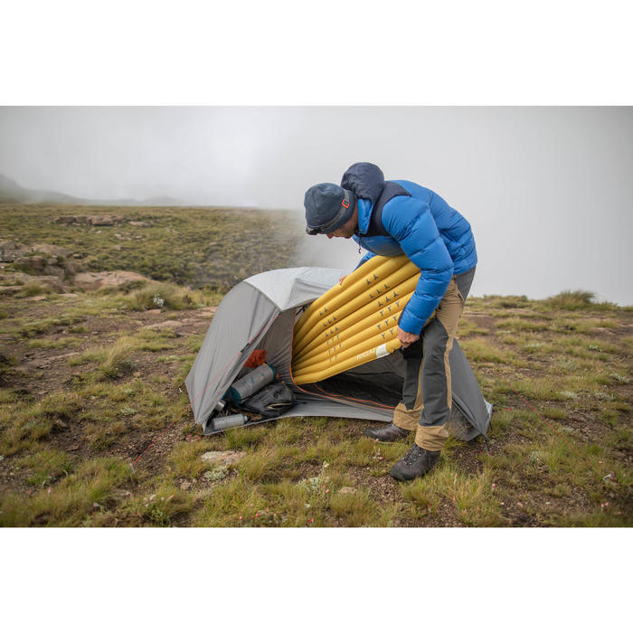 Colchón Inflable Montaña Trekking Forclaz Trek700 Air L Amarillo