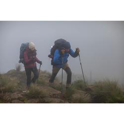 Gants cuir de trekking en montagne TREK 900 imperméable adulte marron