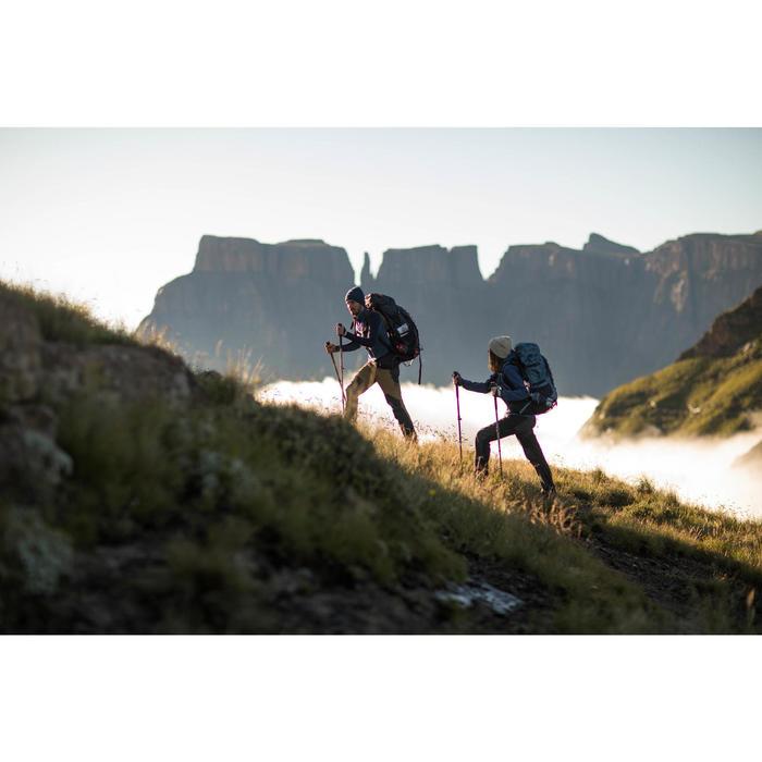 Bergsport rugzak voor heren Trek 900 70+10 grijs