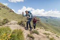 Men's mountain trekking rucksack | TREK 500 50+10L - blue