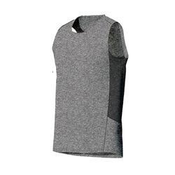 Tank-Shirt 560 Gym & Pilates Herren hellgrau
