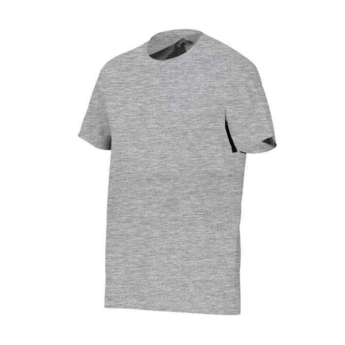 100 Sportee Pilates and Gentle Gym 100% Cotton T-Shirt - Mottled Grey