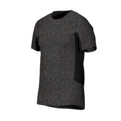 560 Gentle Gym & Pilates T-Shirt - Mottled Dark Grey