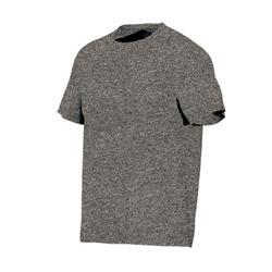 T-Shirt 500 Regular Gym & Pilates Herren braun meliert