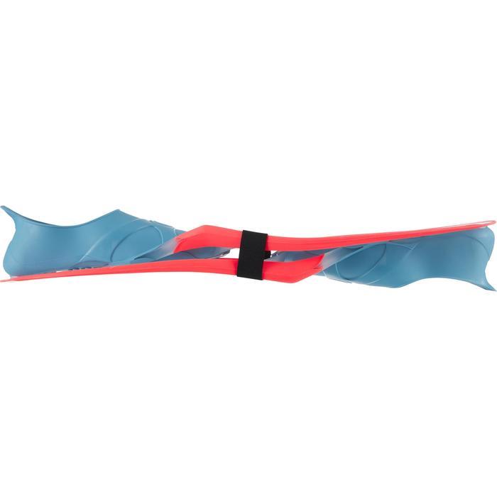 Zwemvliezen voor snorkelen SNK 900 voor volwassenen transparant fluo