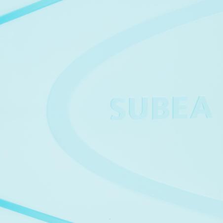 SNK 500 JR Snorkelling Fins Pink turquoise