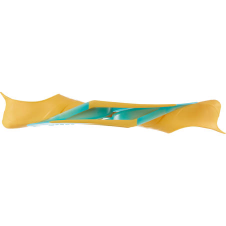 SNK 500 JR Snorkelling Flippers Orange Turquoise