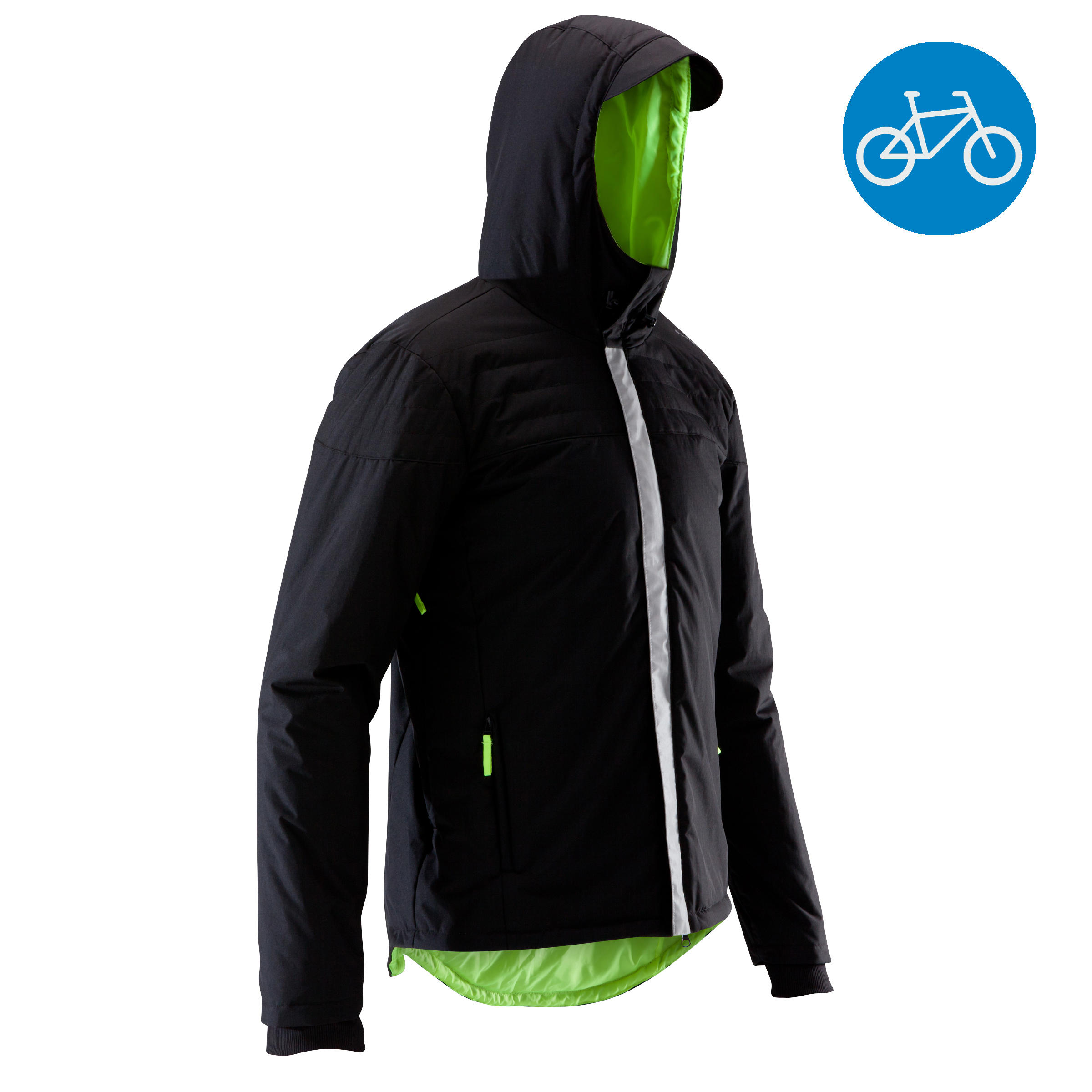 900 Warm Cycling Rain Jacket - Black