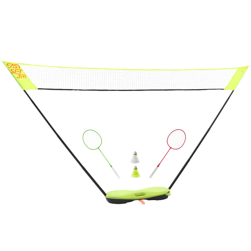 Set Net dan Raket 3 m Easy Set - Kuning