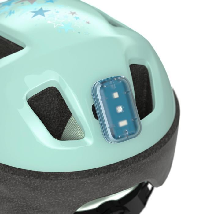 Fietshelm voor kinderen 520 lichtblauw