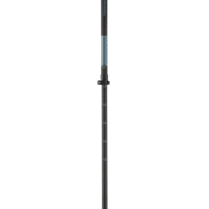 Tourenskistöcke Freetour Power Lock Alu 2-teilig verstellbar 110 bis 145 cm.