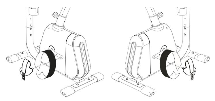 serrage pedale