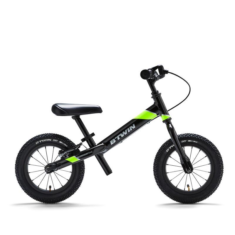 "Runride 900 Kids' 12"" Mountain Bike Balance Bike - Black/Yellow"