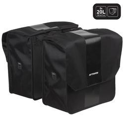Double Bag 2 x 20 L 500 Black