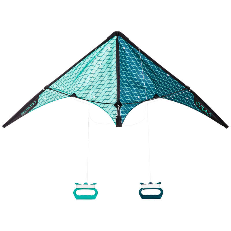 STUNT KITE & ACCESSORIES Kiting - Feel'R 100 Kite ORAO - Kiting