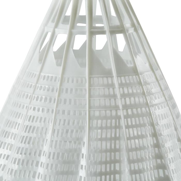 Volant De Badminton En Plastique PSC 100 x1 - Blanc