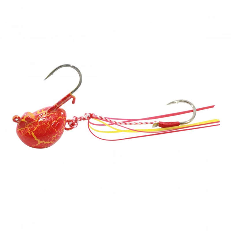 SW SOFTBAIT RIGGING ACCESS AND TENYA Fishing - MAGIC DEEP JIG HEAD 30G RED FLASHMER - Fishing