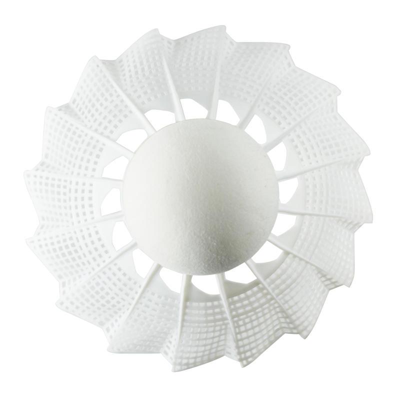 PLASTIC SHUTTLECOCK PSC 100 x1 Single-Pack - White