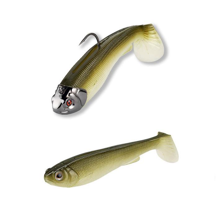 Gummiköder Combo L16 Shad 15 Arkensad Shinner Spinnfischen
