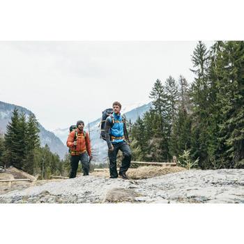 Chaqueta acolchada trekking en montaña TREK 100 hombre naranja