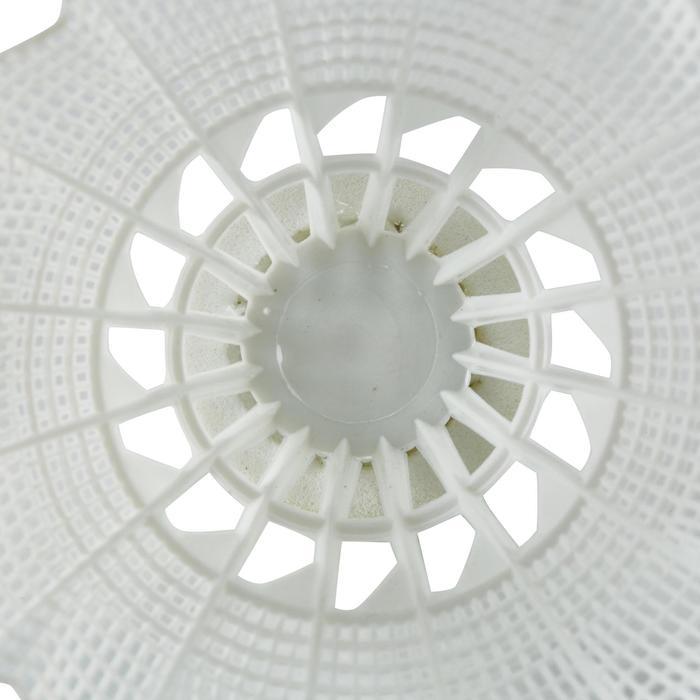 Badmintonball Federball BSC700 Kunststoff 1x weiß