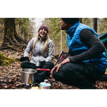 Doudoune trekking montagne TREK100 femme noir