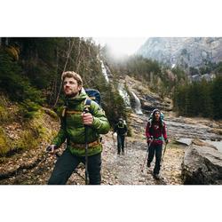 Sac à dos Trekking montagne 50 L EASYFIT homme bleu