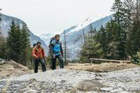 Mochila de excursión Forclaz EASYFIT 50 AZUL OSCURO