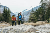 Gilet sans manche RANDONNÉE en montagne RANDO 100 homme bleu