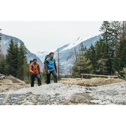 Mochila de Montaña y Trekking Easyfit 50 Litros Hombre Azul