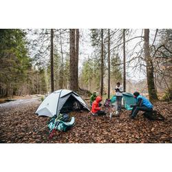Trekkingzelt QuickHiker Fresh&Black für 3 Personen
