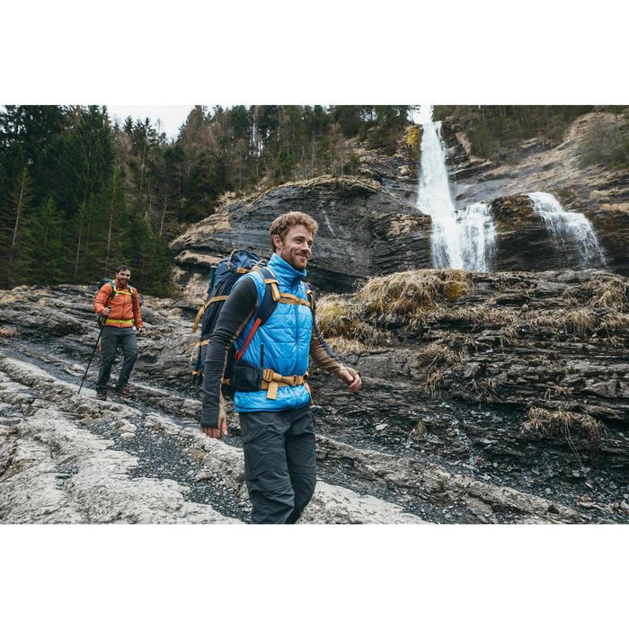 Chaleco Acolchado de Montaña y Trekking Forclaz TREK 100 Hombre Negro