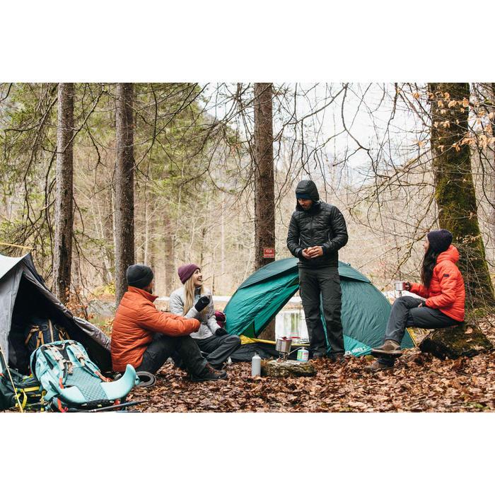 Gewatteerde herenjas voor bergtrekking Trek 100 kap - 1526476